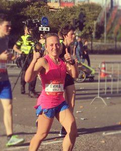 De laatste kilometers van de Halve Marathon van Eindhoven