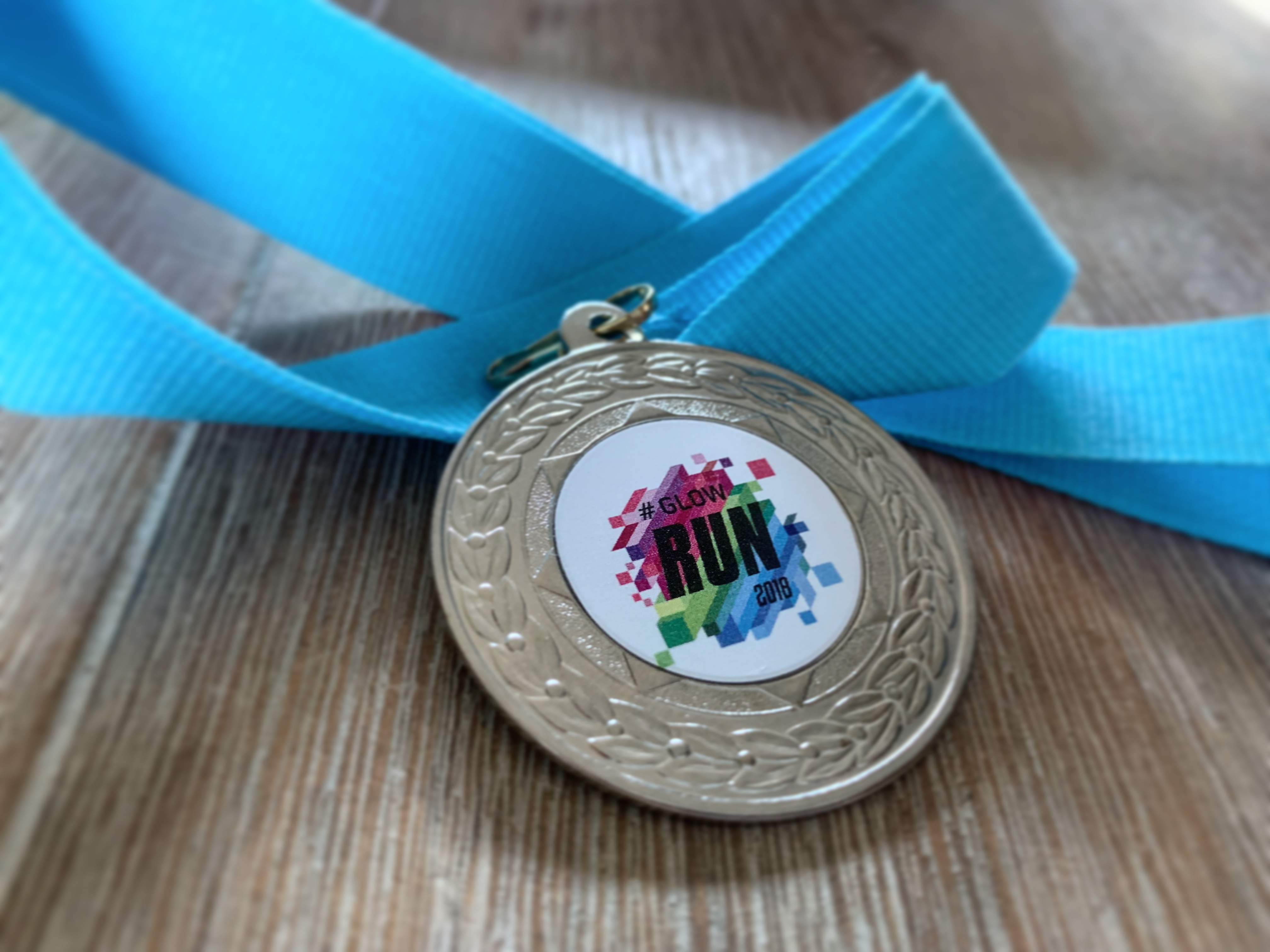 Medaille GLOW Run 2018