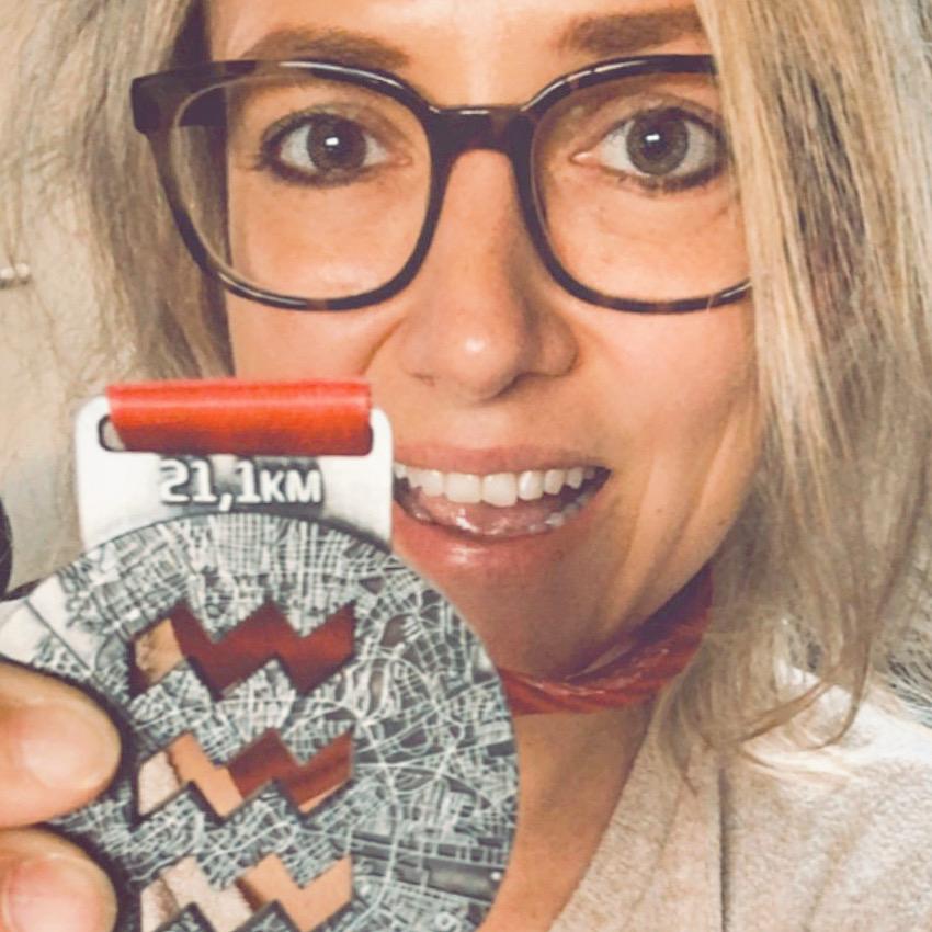 Medaille Halve Marathon Eindhoven 2019