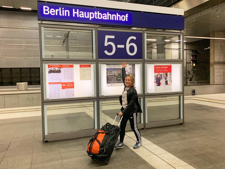 Met NS Internation naar Berlin Haptbahnhof