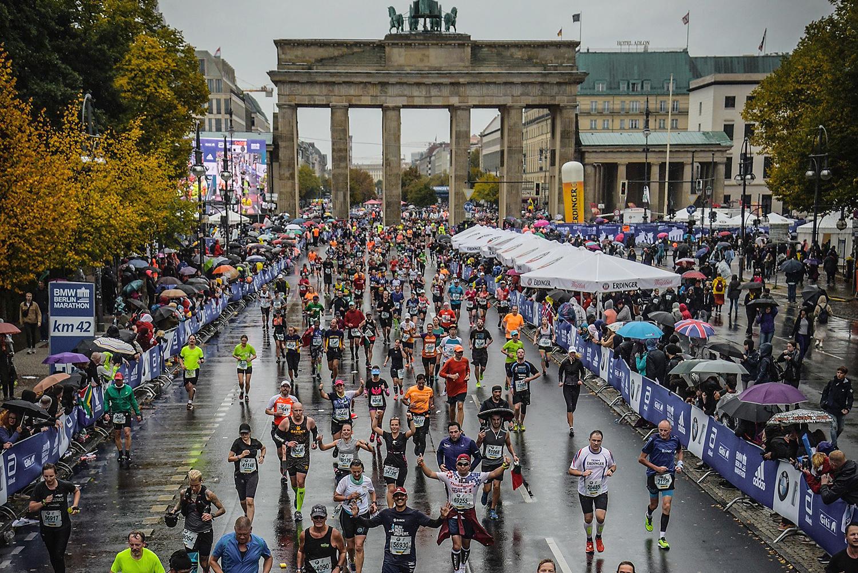 Finish Marathon Berlijn 2019