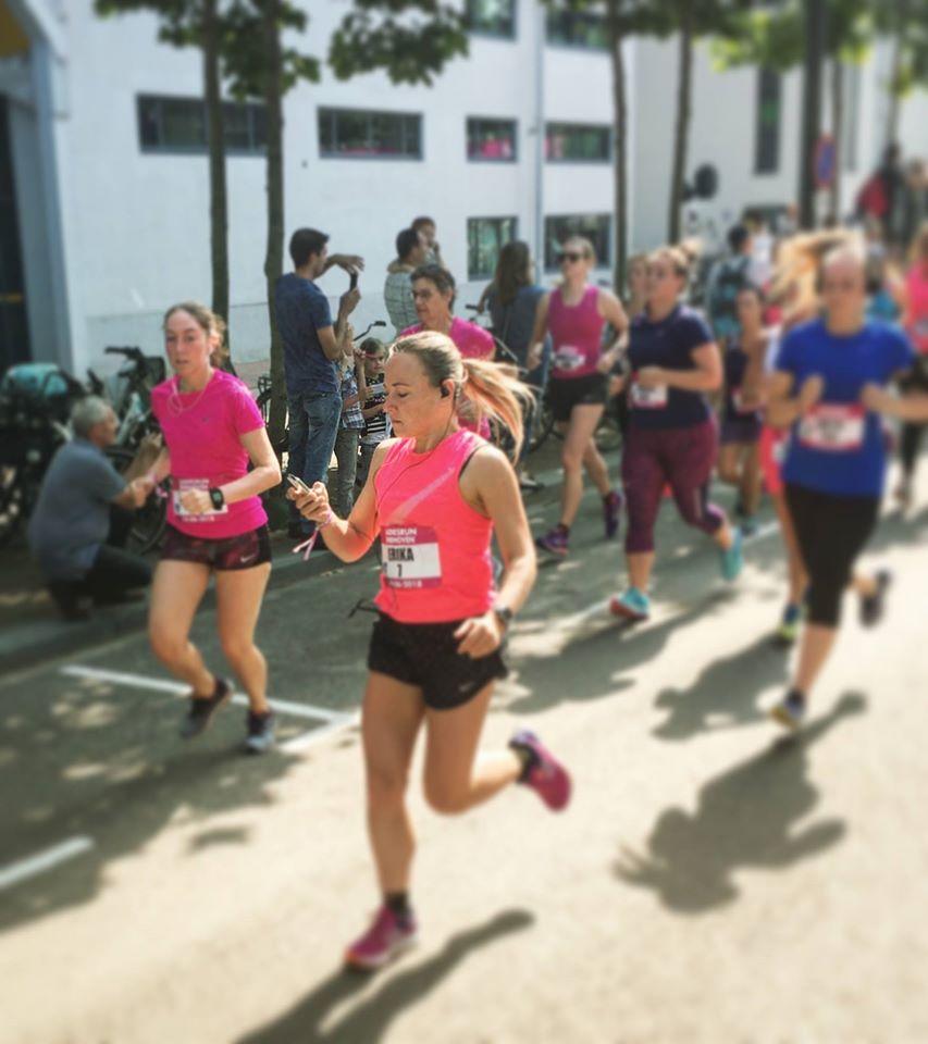 hardloopmuziek tijdens de Ladies Run in 2018